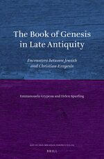 The Book of Genesis in Late Antiquity