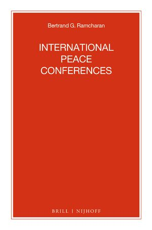 Cover International Peace Conferences