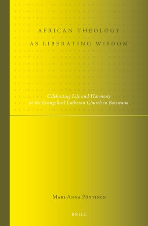 Cover African Theology as Liberating Wisdom