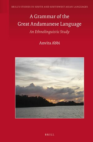 Cover A Grammar of the Great Andamanese Language