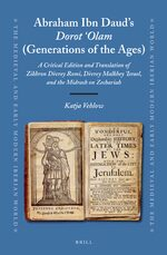 Cover Abraham Ibn Daud's <i>Dorot 'Olam</i> (Generations of the Ages)
