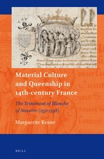 Cover Material Culture and Queenship in 14th-century France