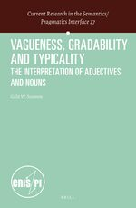 Cover Vagueness, Gradability and Typicality