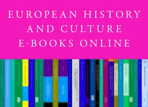 Cover European History and Culture E-Books Online, Collection 2013