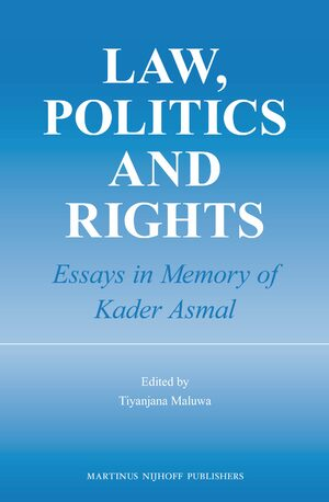Law, Politics and Rights