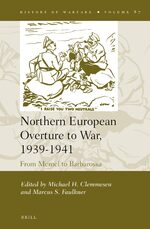 Cover Northern European Overture to War, 1939-1941