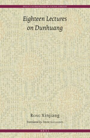 Cover Eighteen Lectures on Dunhuang
