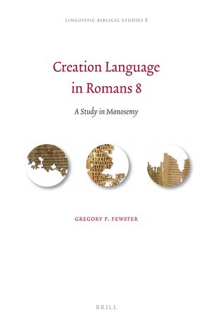 Cover Creation Language in Romans 8
