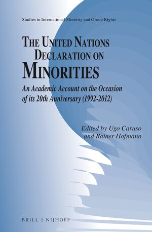 Cover The United Nations Declaration on Minorities