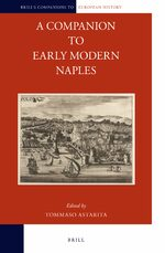 Cover A Companion to Early Modern Naples