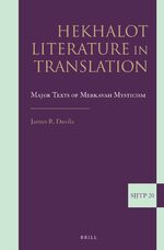 Cover Hekhalot Literature in Translation