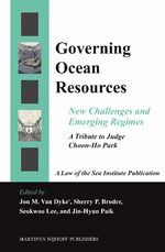 Cover Governing Ocean Resources