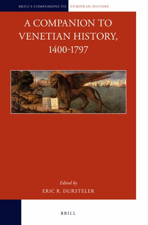 Cover A Companion to Venetian History, 1400-1797