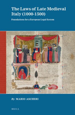 Cover The Laws of Late Medieval Italy (1000-1500)