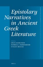 Cover Epistolary Narratives in Ancient Greek Literature