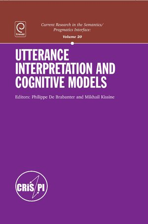 Cover Utterance Interpretation and Cognitive Models