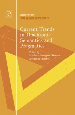 Cover Current Trends in Diachronic Semantics and Pragmatics