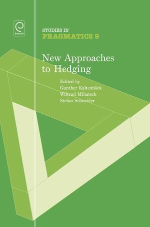 Cover New Approaches to Hedging