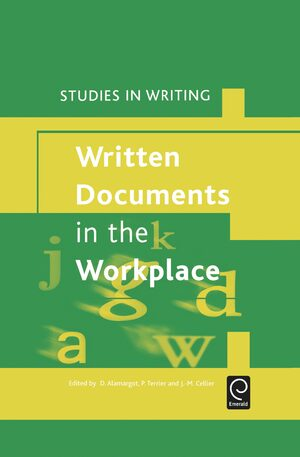 Cover Written Documents in the Workplace