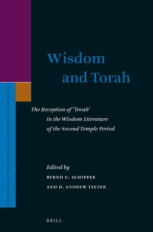 Cover Wisdom and Torah