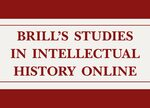 Cover Brill's Studies in Intellectual History Online