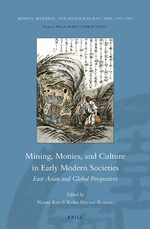 Cover Mining, Monies, and Culture in Early Modern Societies