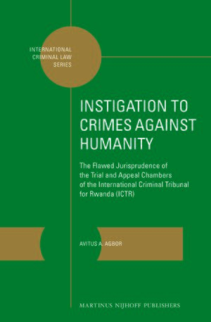 Cover Instigation to Crimes against Humanity