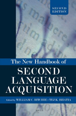 Cover The New Handbook of Second Language Acquisition