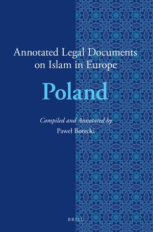 Cover Annotated Legal Documents on Islam in Europe: Poland