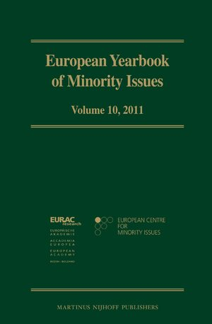 Cover European Yearbook of Minority Issues, Volume 10 (2011)