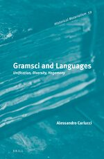 Cover Gramsci and Languages