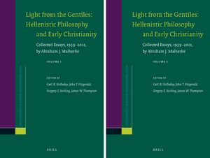 Cover Light from the Gentiles: Hellenistic Philosophy and Early Christianity