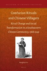 Cover Confucian Rituals and Chinese Villagers