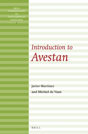 Cover Introduction to Avestan