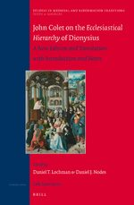 Cover John Colet on the Ecclesiastical Hierarchy of Dionysius