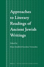 Cover Approaches to Literary Readings of Ancient Jewish Writings