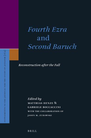Cover <i>Fourth Ezra</i> and <i>Second Baruch</i>