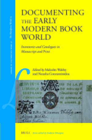 Cover Documenting the Early Modern Book World