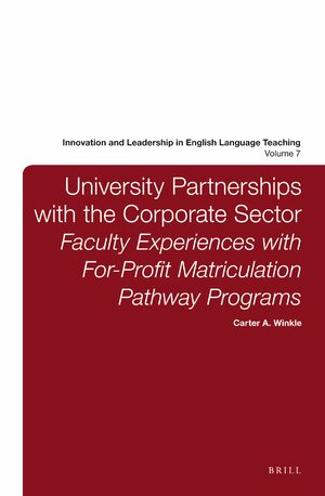 Cover University Partnerships with the Corporate Sector
