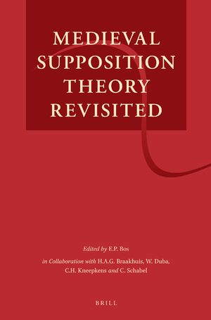 Cover Medieval Supposition Theory Revisited