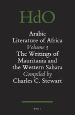 Cover The Arabic Literature of Africa Volume 5 (2 vols.)
