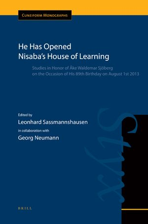 Cover He Has Opened Nisaba's House of Learning