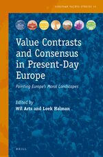 Cover Value Contrasts and Consensus in Present-Day Europe