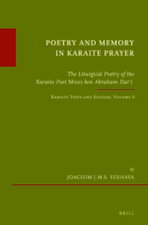Cover Poetry and Memory in Karaite Prayer
