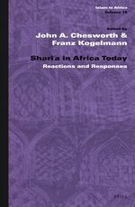 Cover Sharīʿa in Africa Today