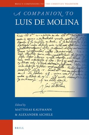 Cover A Companion to Luis de Molina