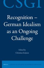 Cover Recognition - German Idealism as an Ongoing Challenge