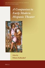Cover A Companion to Early Modern Hispanic Theater