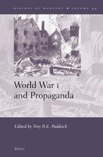 Cover World War I and Propaganda