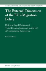 Cover The External Dimension of the EU's Migration Policy